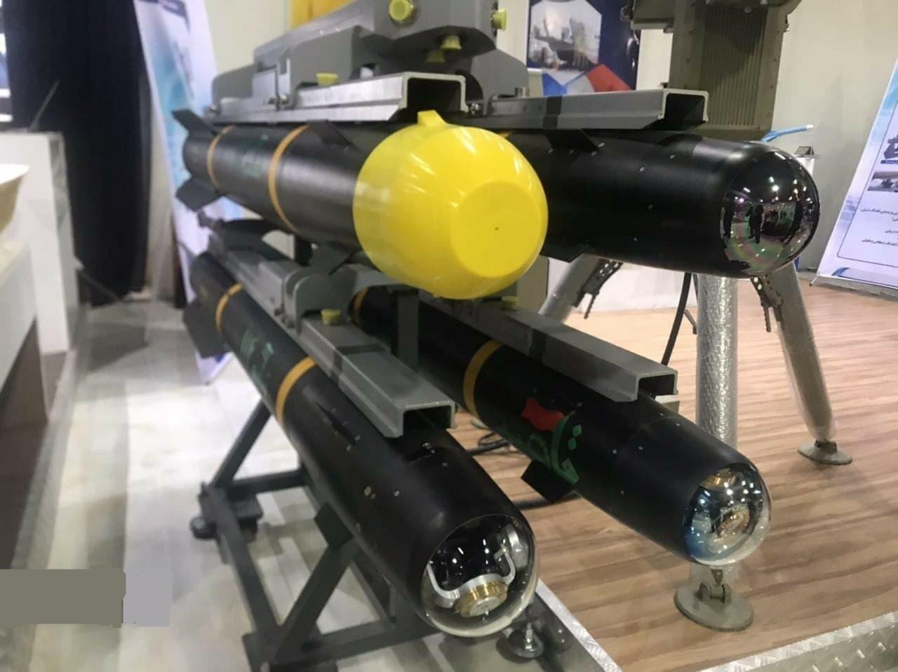 Tên lửa chống tăng không đối đất Ghaem-114 của Iran. Ảnh: TASS.