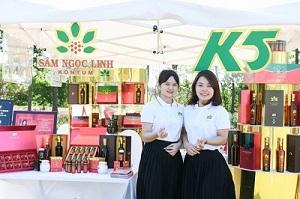 Tân Hoa hậu Đỗ Thị Hà làm đại sứ thương hiệu cho Sâm Ngọc Linh Kon Tum K5