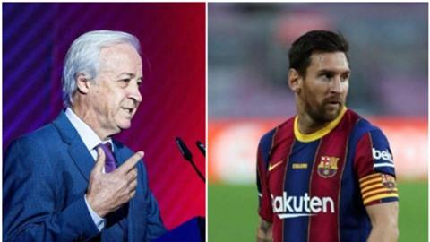 Sốc: Chủ tịch tạm quyền của Barca đòi bán Messi