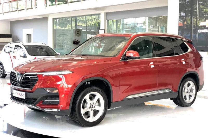VinFast Lux SA2.0. Ảnh: Vinfast Chevrolet Daklak.