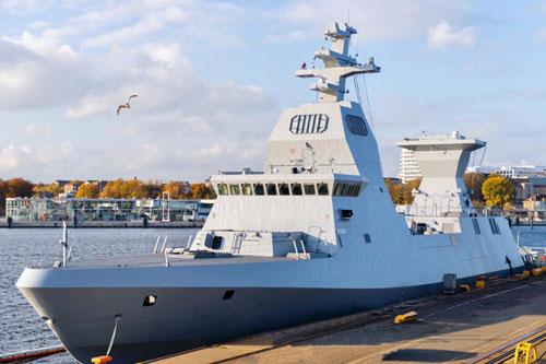 Israel nhận tàu chiến tiên tiến nhất trong bối cảnh căng thẳng với Iran gia tăng