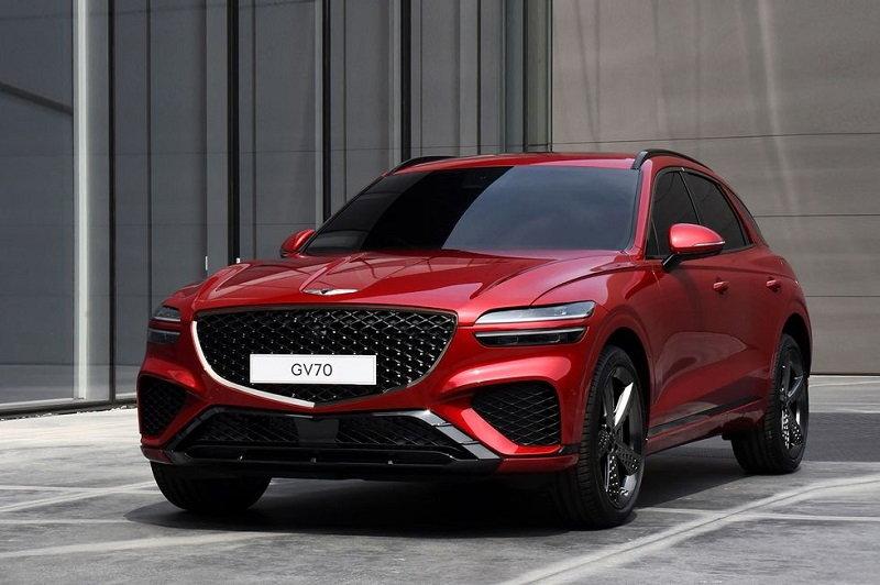 Chi tiết SUV hạng sang Genesis GV70 2022