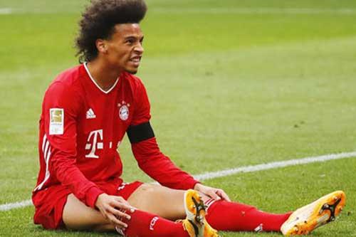 Sane gây thất vọng tại Bayern Munich