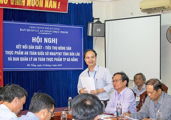 Ông Nguyễn Tấn Hải, Trưởng BQL ATTP TP Đà Nẵng