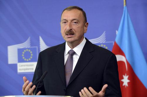 Tổng thống Azerbaijan Ilham Aliyev.
