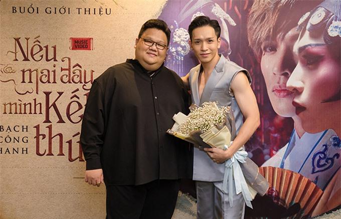 Đạo diễn Vương Khang chỉ đạo thực hiện sản phẩm mới của Bạch Công Khanh.