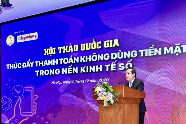 Ông Nguyễn Kim Anh, Phó Thống đốc NHNN.