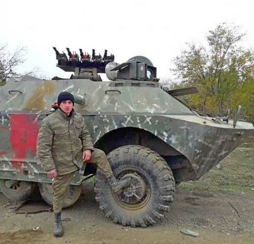 Tổ hợp tên lửa chống tăng tự hành Bardak của Quân đội Armenia. Ảnh: Vestnik.