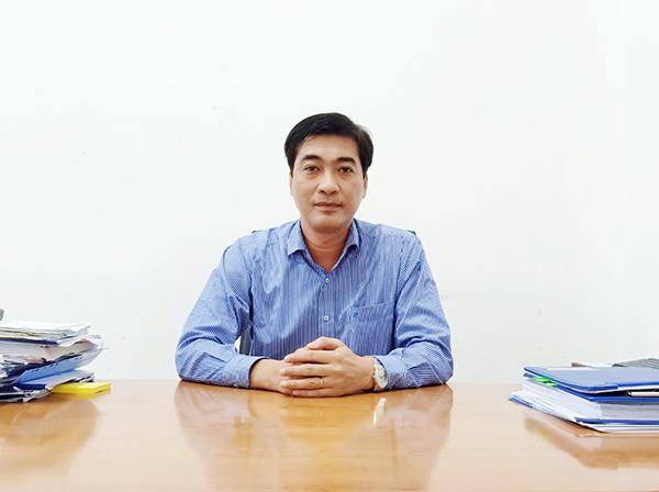 Ông Hồ Minh Nam, Phó Tổng Giám đốc Công ty Cổ phần Cấp nước Đà Nẵng (Dawaco)