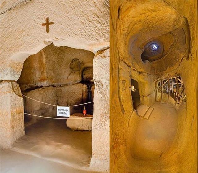 Ngôi đền bí ẩn 7.000 năm tuổi dưới lòng đất của Romania - 3