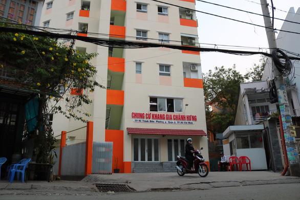 Ông Trịnh Minh Thanh bán căn hộ không có thật tại chung cư Khang Gia Chánh Hưng cho khách hàng.