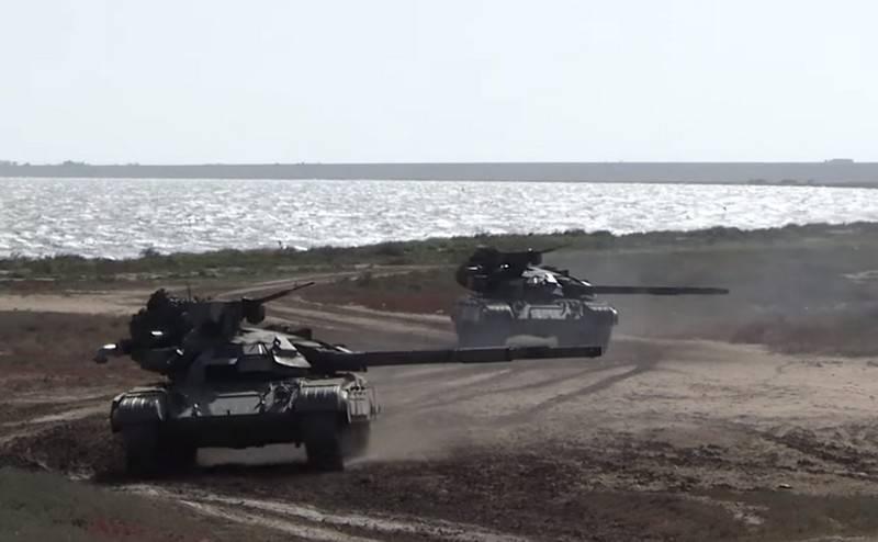Xe tăng chiến đấu chủ lực T-64BM Bulat của Quân đội Ukraine. Ảnh: Defense Express.
