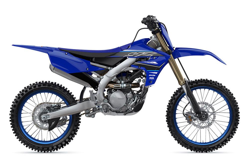 3. Yamaha YZ250F.