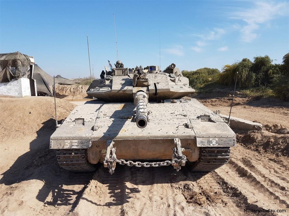 Xe tăng chiến đấu chủ lực Merkava. Ảnh: Military Today