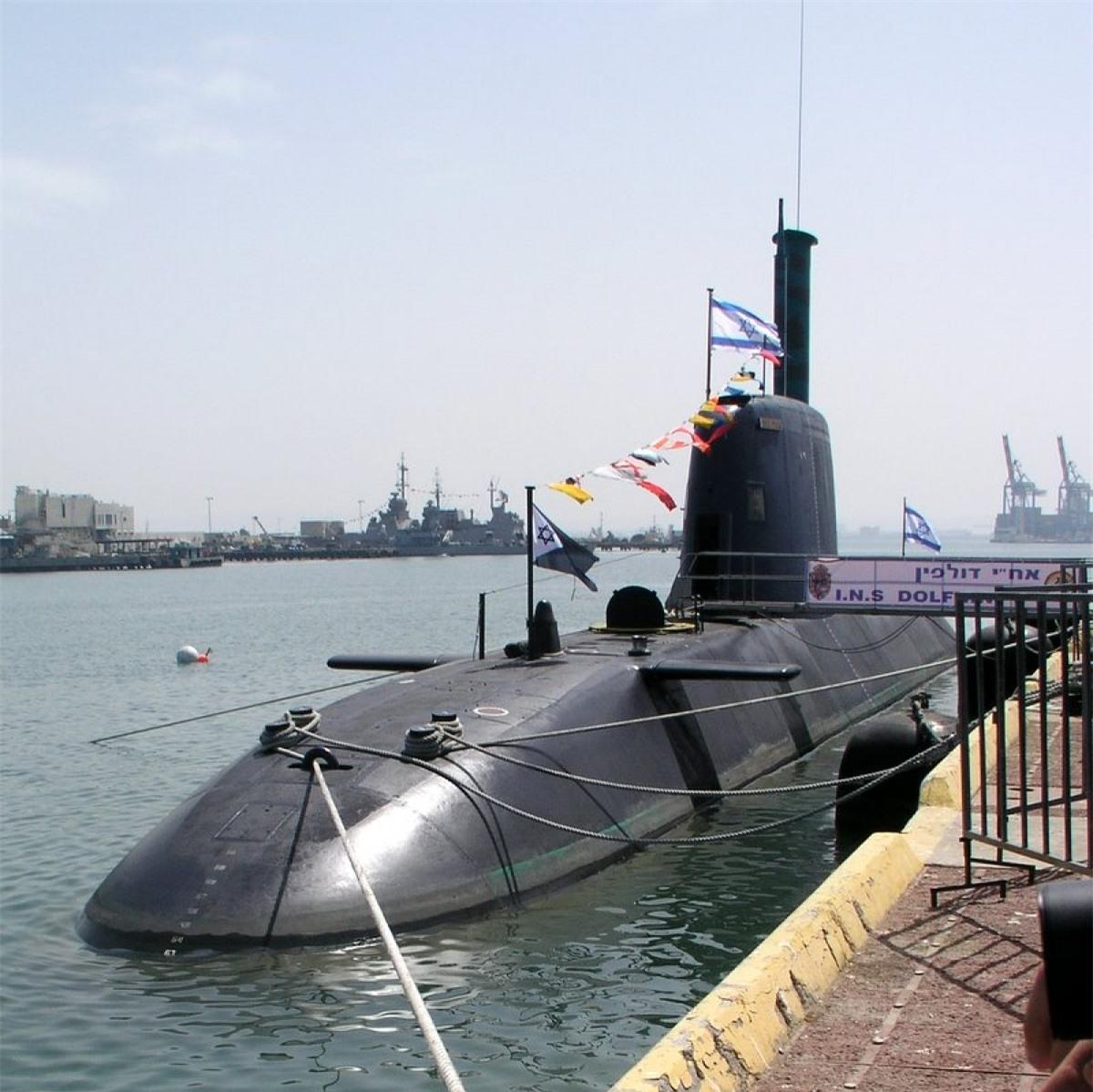 Tàu ngầm lớp Dolphin. Ảnh: Wikipedia