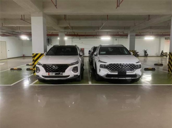 Hyundai Santa Fe 2021 xuat hien tai Viet Nam anh 1