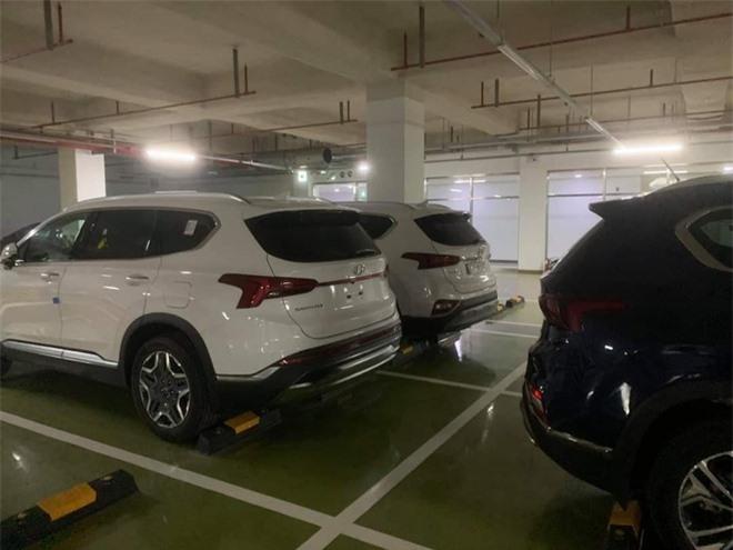 Hyundai Santa Fe 2021 xuat hien tai Viet Nam anh 2