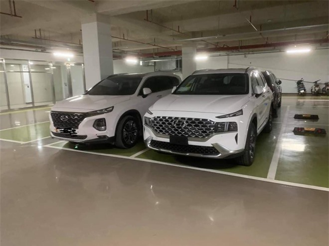 Hyundai Santa Fe 2021 xuat hien tai Viet Nam anh 3