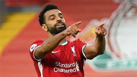 Salah đạt cột mốc ghi bàn chỉ thua kém Messi và Lewandowski