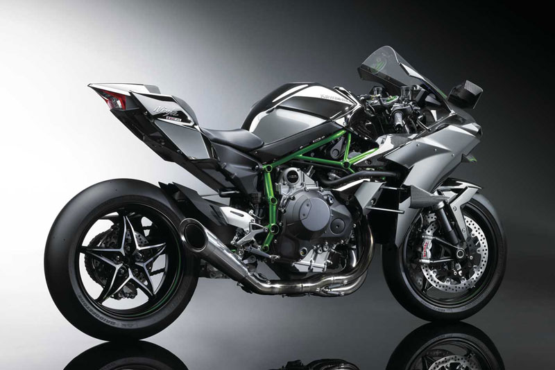 3. Kawasaki Ninja H2R (giá: 55.500 USD).