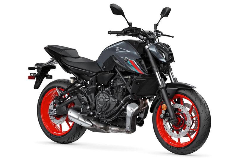 8. Yamaha MT-07 (giá: 7.699 USD).