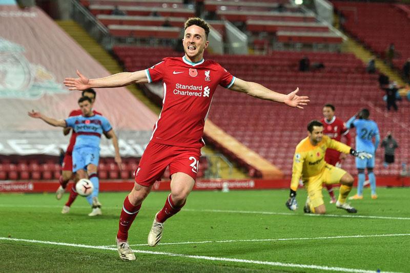 5. Diogo Jota (Liverpool).