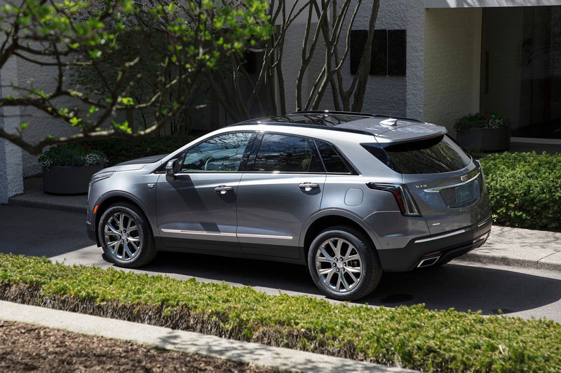 =7. Cadillac XT5 2020 (điểm an toàn: 9,5/10).