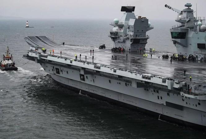 Tàu sân bay của hải quân Anh.