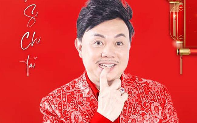 Hình ảnh nghệ sĩ Chí Tài trên poster chương trình Xuân Phát Tài 11.