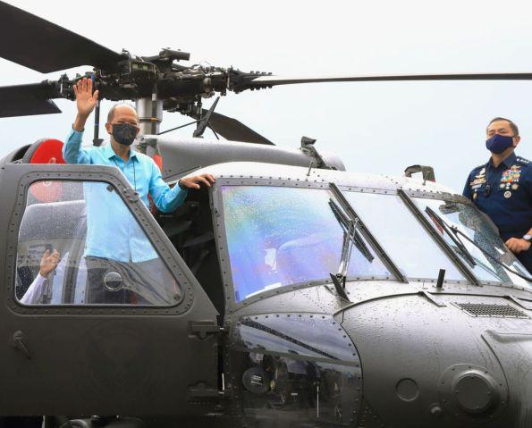Trực thăng S-70i Black Hawk của Không quân Philippines. Ảnh: Janes Defense.
