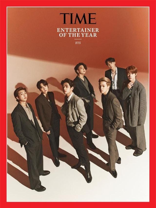 Tạp chí Time chọn nhóm BTS là Ngôi sao giải trí của năm 2020 - 1