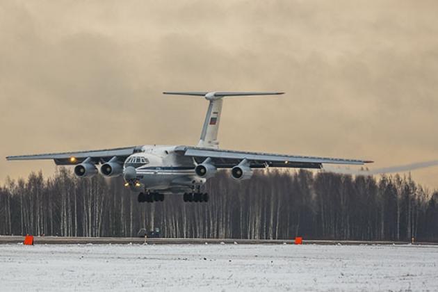Nga đã gửi tới 10 máy bay vận tải tới Armenia chỉ trong một ngày. Ảnh: Avia-pro.