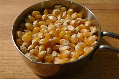 Ngô là nguyên liệu chính trong cách làm bắp rang bơ thơm ngon