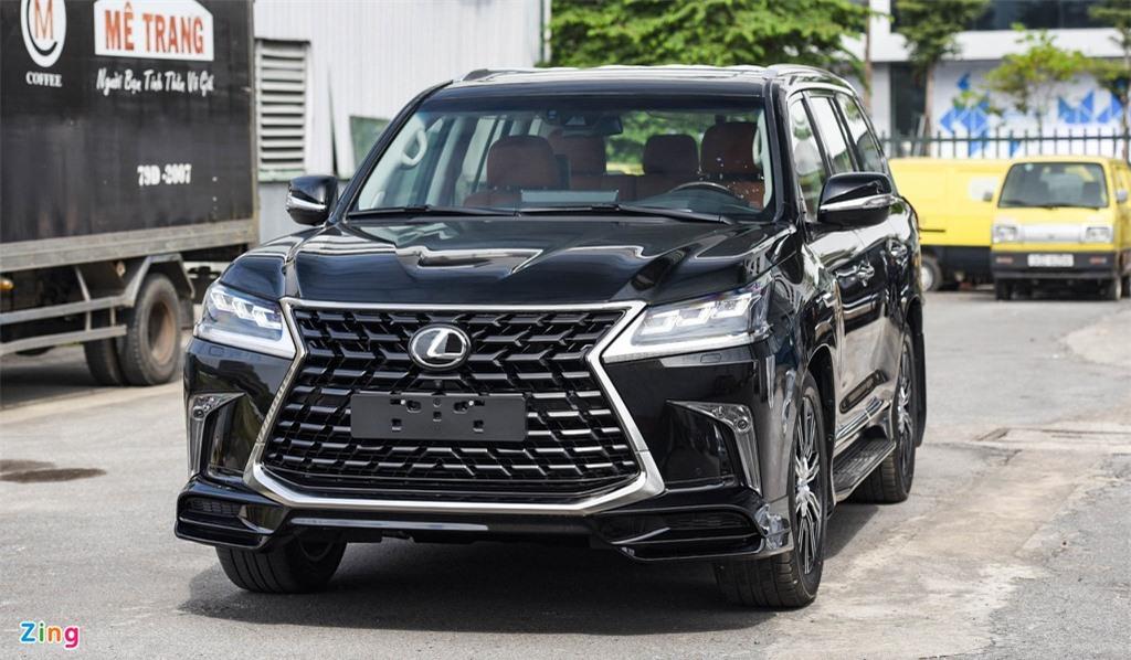 Chi tiet Lexus LX570 Super Sport 2021 dau tien tai Viet Nam anh 1