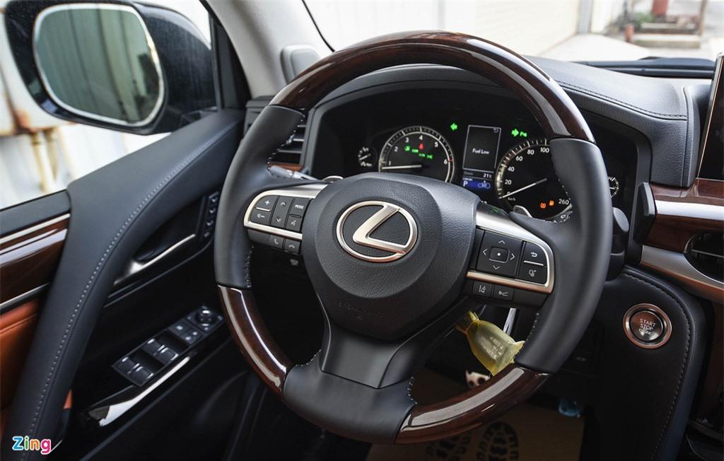 Chi tiet Lexus LX570 Super Sport 2021 dau tien tai Viet Nam anh 10