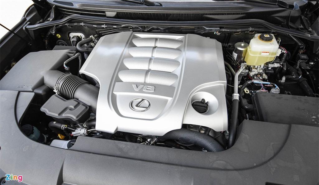 Chi tiet Lexus LX570 Super Sport 2021 dau tien tai Viet Nam anh 15