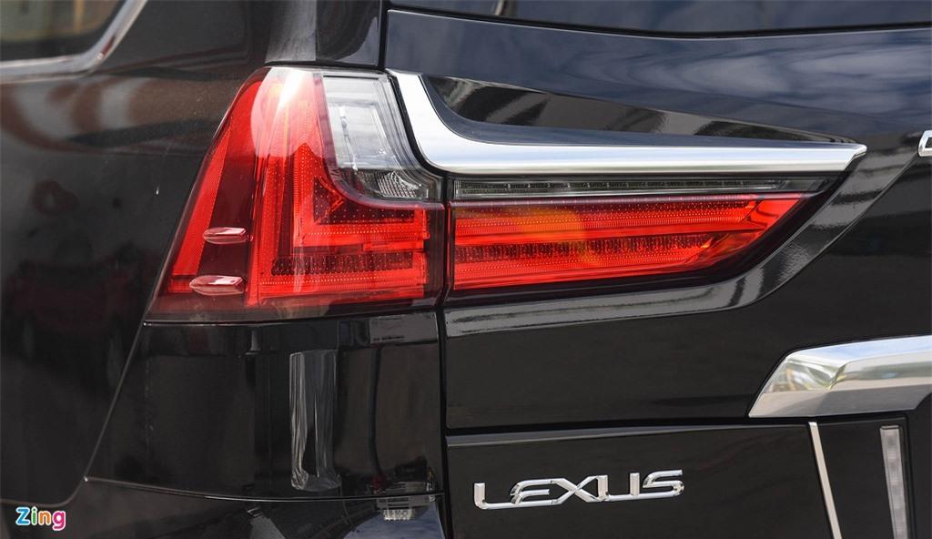 Chi tiet Lexus LX570 Super Sport 2021 dau tien tai Viet Nam anh 17