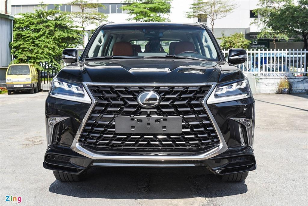 Chi tiet Lexus LX570 Super Sport 2021 dau tien tai Viet Nam anh 4