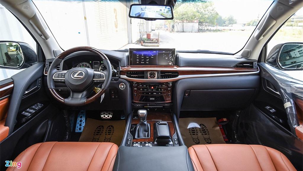 Chi tiet Lexus LX570 Super Sport 2021 dau tien tai Viet Nam anh 7