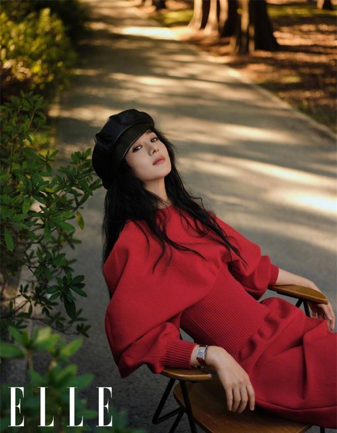 Triệu Lệ Dĩnh trẻ xinh ngỡ ngàng trên Elle số đầu năm 2021 - ảnh 4