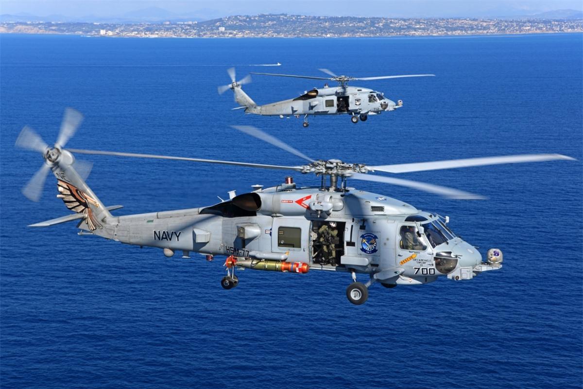 Sikorsky MH-60R Seahawk là trực thăng đa nhiệm; Nguồn: flickr.com