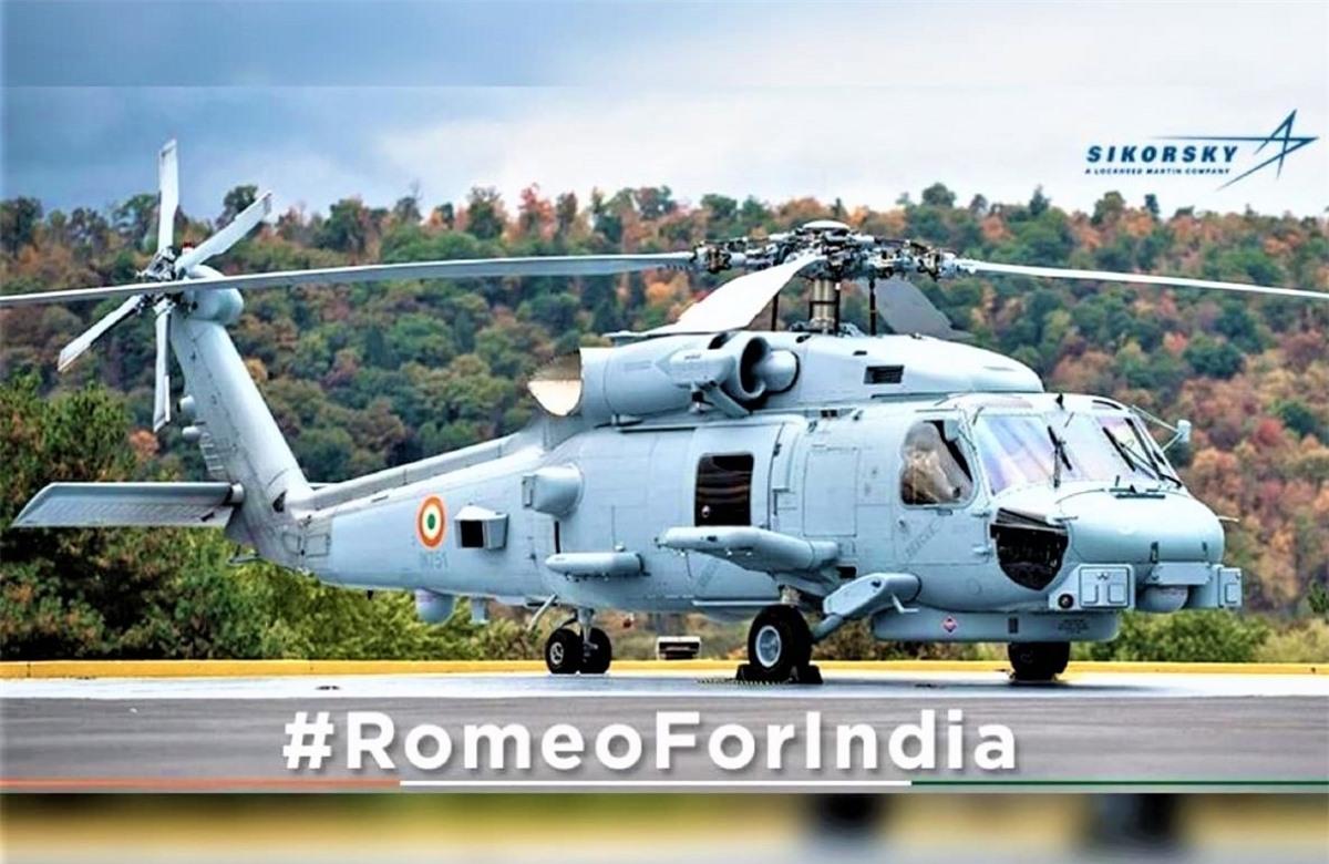 MH-60R sẽ giúp Hải quân Ấn Độ nâng cao khả năng chiến đấu; Nguồn: theweek.in