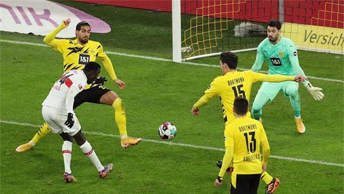 Dortmund đã phải nhận trận thua đau đớn nhất kể từ đầu giải