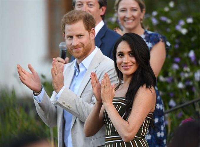 Harry và Meghan - Công tước và Nữ công tước xứ Sussex. Ảnh: PA.