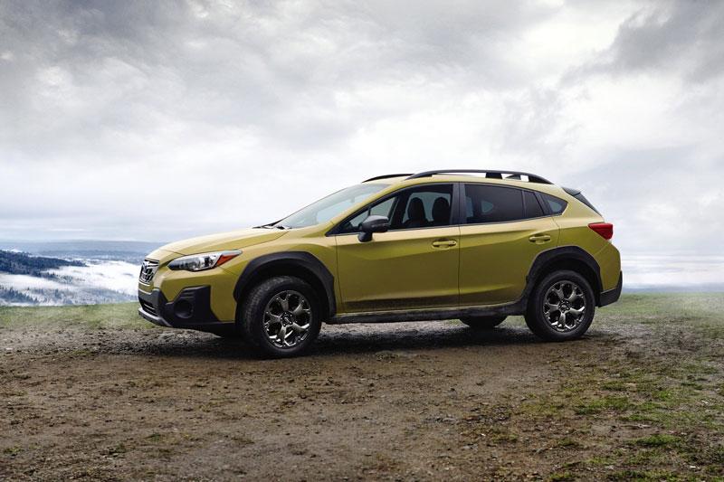 4. Subaru Crosstrek 2021 (giá khởi điểm: 22.245 USD).