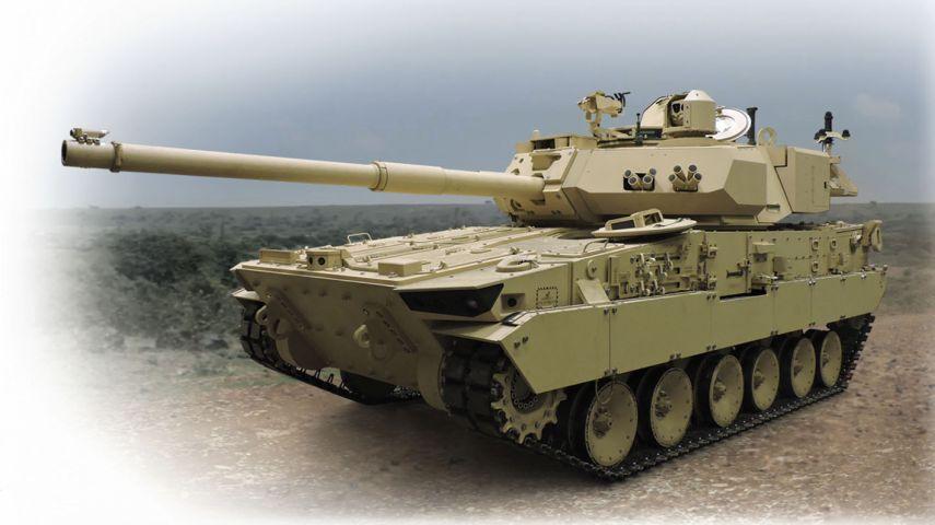 Một nguyên mẫu xe tăng hạng nhẹ đang tham dự cuộc thi của Quân đội Mỹ. Ảnh: Janes Defense.