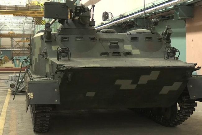 Xe bọc thép chở quân BTR-50 do Ukraine tiến hành nâng cấp. Ảnh: Topwar.