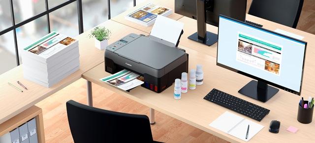 Máy in dòng G Series giúp tăng năng suất tối đa cho văn phòng tại nhà và văn phòng nhỏ