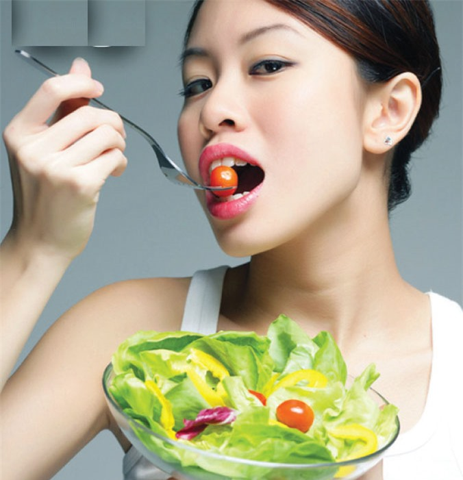 Người nhóm máu A thích hợp với việc ăn chay