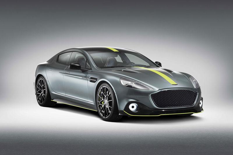 6. Aston Martin Rapide (giá khởi điểm: 199.950 USD).